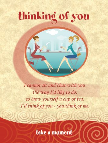 Chatabox Friendship Teabags bloomsoncameron thinking of you ladies cafe