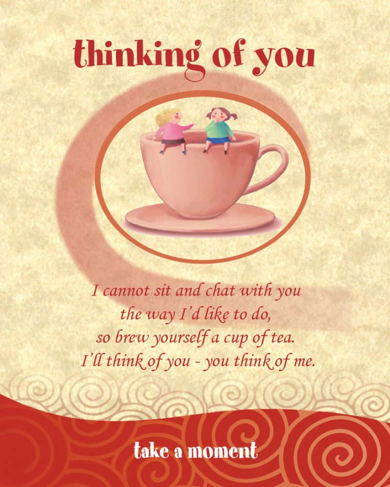 Chatabox Friendship Teabags bloomsoncameron thinking of you